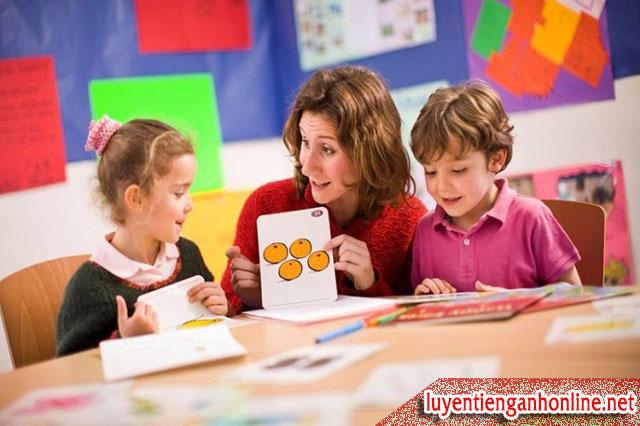 Cách dạy tiếng Anh cho trẻ em hiệu quả nhất hiện nay