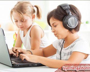 Các phần mềm học tiếng Anh cho trẻ em thông dụng